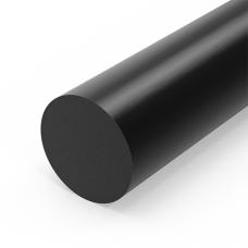 Стержень полиацеталя, диаметр 40мм, черный