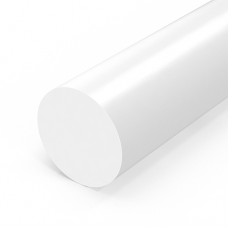 Стержень полиацеталя, диаметр 45мм, натур.