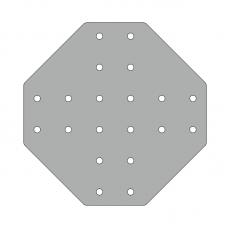 Пластина 176х176, серия 30, арт.150306