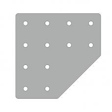 Пластина 156х156, серия 40, арт.150404