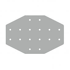 Пластина 236х156, серия 40, арт.150405