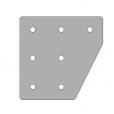 Пластина 131х131, серия 45, арт.150453