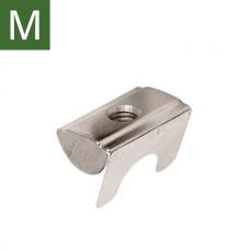 Сухарь с лапкой, паз 8, М4 (30-М4)