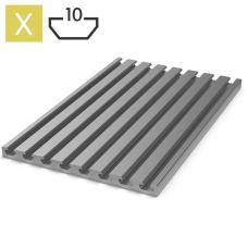 Алюминиевый профиль 17x240, арт.100172