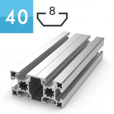 Профиль 40x80, T420