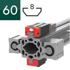 Профиль 60x60, Т612