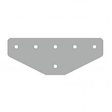 Пластина 146х56, серия 30, паз 8мм