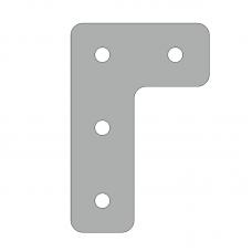 Пластина 57х86, серия 30, паз 8мм