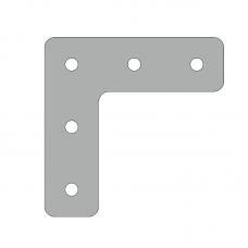 Пластина 86х86, серия 30, паз 8мм