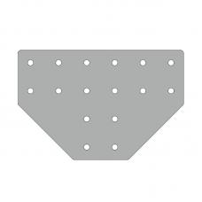 Пластина 236х156, серия 40, паз 10мм