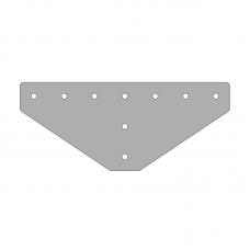 Пластина 311х131, серия 45, паз 10мм